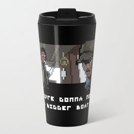 Smile You Son of a Pixel! Travel Mug