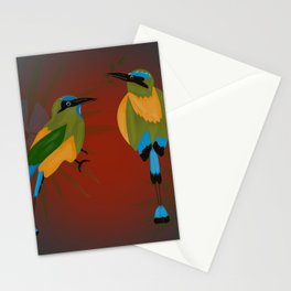Blue-crowned Motmot Stationery Cards