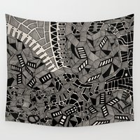 marina Wall Tapestries featuring - marina - by Magdalla Del Fresto