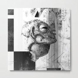 Żaboludź - ZONA Metal Print