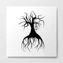 Eerie Tree Metal Print
