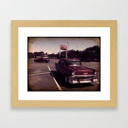 American Muscle  Framed Art Print
