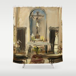 Private Chapel Shower Curtain