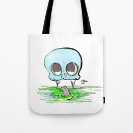 Skull & Goop Tote Bag