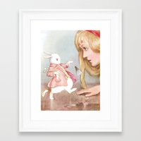 dorothy Framed Art Prints featuring Dorothy by Artzology