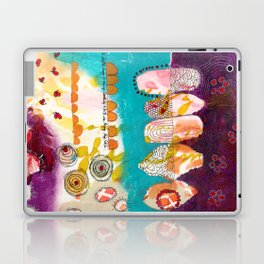 Doodle Me Happy Laptop & iPad Skin