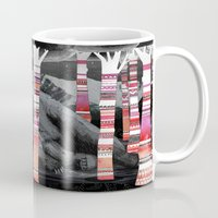 dreams Mugs featuring Sweet Dreams Ursus Arctus  by Sandra Dieckmann