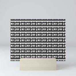 Blockblack Mini Art Print