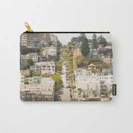 Climbing Hills in San Francisco Carry-All Pouch