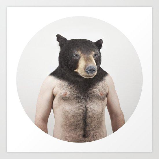 Therianthrope - Bear Art Print