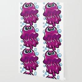 HAPPY JELLYFISH tentacle Medusa cnidaria Gift Wallpaper