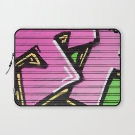 Super Pink Street Art Laptop Sleeve