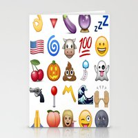 emoji Stationery Cards featuring Emoji  by Life.png