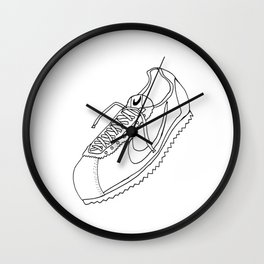 A Shoe Wall Clock