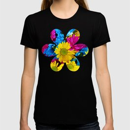 Colorful spring flowers T-shirt