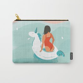 Brown Eyed Girl Carry-All Pouch