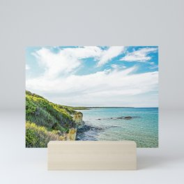 Beach in Salento Mini Art Print
