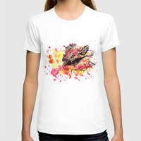 smaug T-shirts featuring Watercolor Smaug by Trinity Bennett