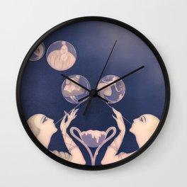 Fashion Dreams Wall Clock