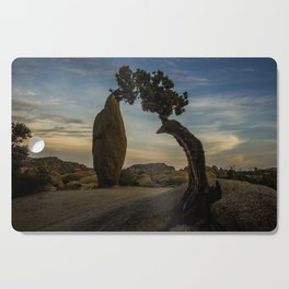 Juniper Tree in Joshua Tree National Park Cutting Board