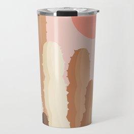 Abstraction_SUN_CACTUS_Minimalism_002 Travel Mug