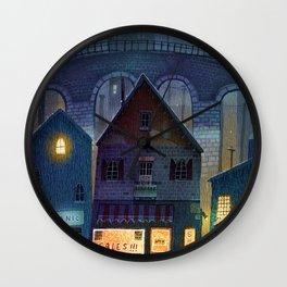 little shops Wall Clock