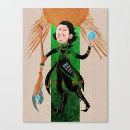 Loki Tarot Canvas Print