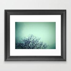 Bare Framed Art Print