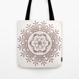 Mandala chocolate Tote Bag