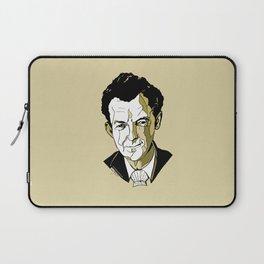 Composer Benjamin Britten Aldeburgh Southwold Beach British English Music Musician UK England Laptop Sleeve