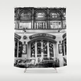 The Punch And Judy Pub Covent Garden Shower Curtain