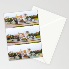 JC Nichols Horse Fountain Kansas City Country Club Plaza Tilt Shift Stationery Cards