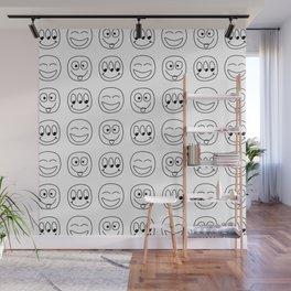 Emoji Wall Mural