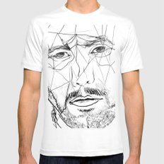 Men Mens Fitted Tee SMALL White