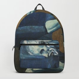 The Old Guitarist Backpack