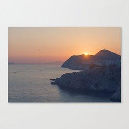 Dubrovnik Sunset Canvas Print