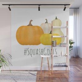 #SquashGoals Wall Mural
