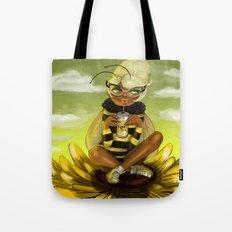 Bug Girls: Bee snack break Tote Bag