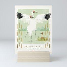 Whooping Crane Mini Art Print
