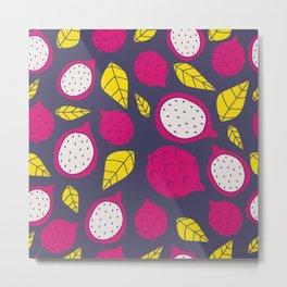 Pink Dragonfruits Metal Print