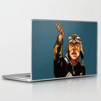 propaganda Laptop & iPad Skins featuring propaganda 1 by Ward Van Haute