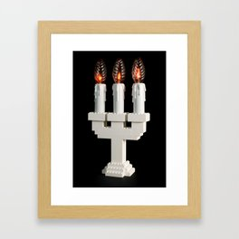 Lego light #1 Framed Art Print