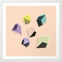 play Art Prints featuring Play  by Leandro Pita