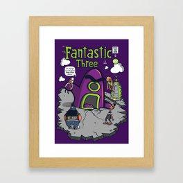 Fantastic Three Framed Art Print