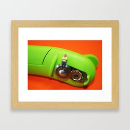 SmallWorld Framed Art Print