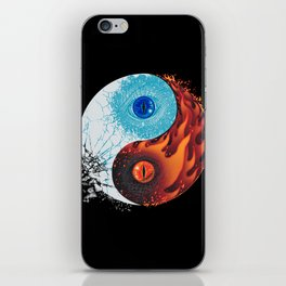 Ice and Fire iPhone Skin