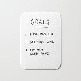 Goals Bath Mat