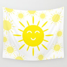 Summer mood. The sun is shining Wall Tapestry