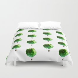 Iceberg Attack Duvet Cover