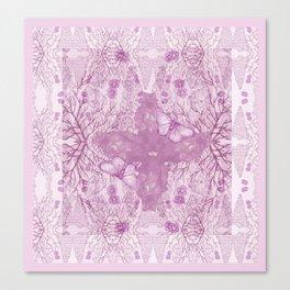 Bear Kaleidoscope ♡ Canvas Print